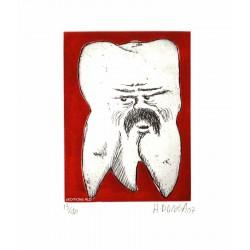 Dent N°27 - Gravure Hervé Dirosa