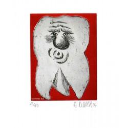 Dent N°25 - Gravure de Hervé Dirosa