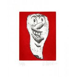 Dent N°8 - Gravure Hervé Dirosa