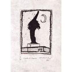 Charles-le-Chauves - Gravure de Pierre Alechinsky